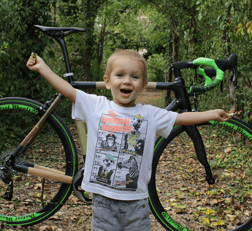 Photo Marcel devant un vélo Boca Cycles
